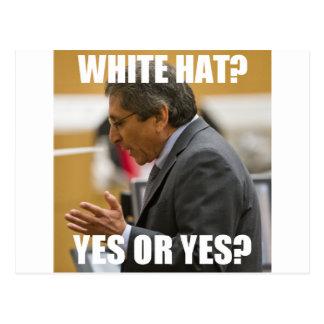 Juan Martinez White Hat? Yes or Yes? Postcard