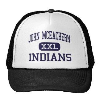 Juan McEachern - indios - alto - Powder Springs Gorras De Camionero