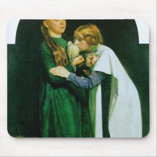 Juan Millais- la vuelta de la paloma a la arca Alfombrillas De Ratones