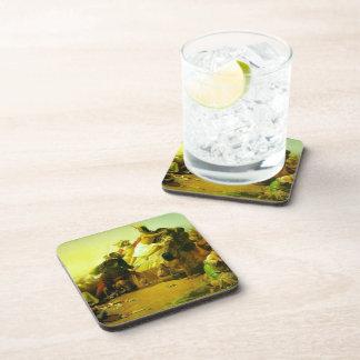 Juan Millais- Pizarro que agarra al inca de Perú Posavasos De Bebida
