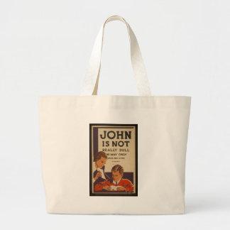 Juan no es embotado - 1937 bolsa tela grande