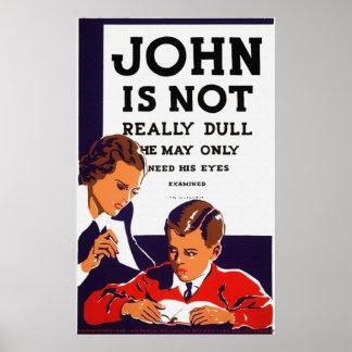 Juan no es poster realmente embotado