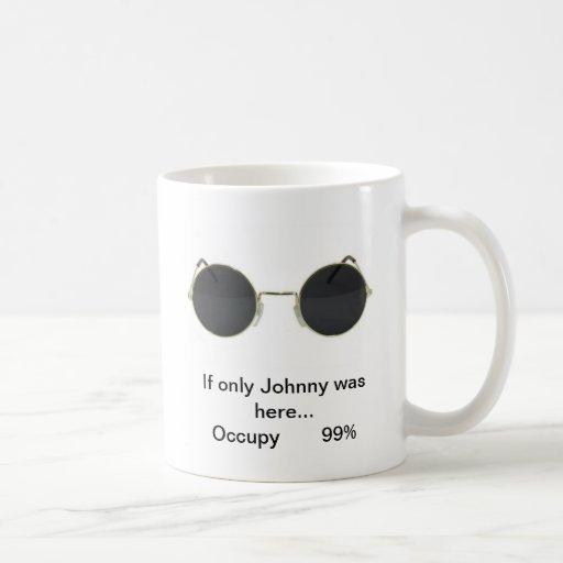 Juan ocupa la taza