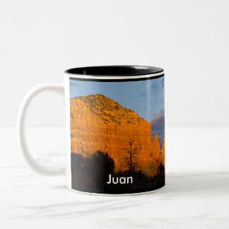 Juan on Moonrise Glowing Red Rock Mug