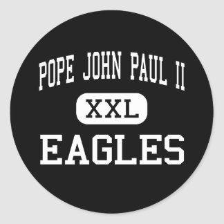 Juan Pablo II - Eagles - altos - Boca Raton Etiquetas Redondas