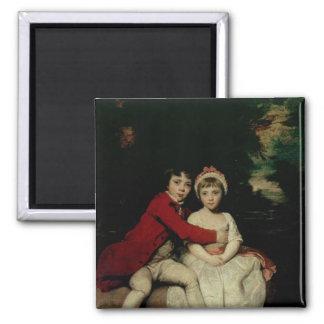 Juan Parker y su hermana Teresa, 1779 Imán Cuadrado