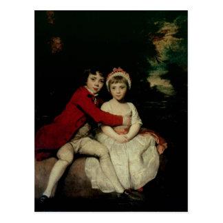 Juan Parker y su hermana Teresa, 1779 Postal