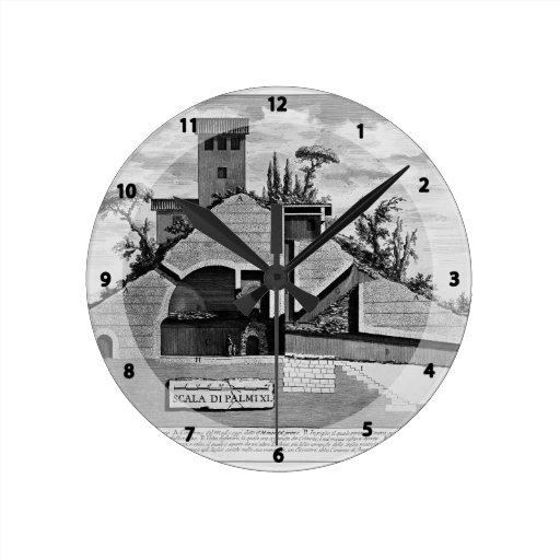 Juan Piranesi- las antigüedades romanas de la tumb Reloj Redondo Mediano