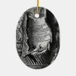 Juan Piranesi- las antigüedades romanas del palaci Ornamentos De Navidad