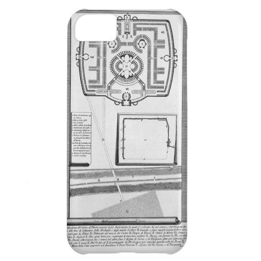 Juan Piranesi- las antigüedades romanas Funda Para iPhone 5C