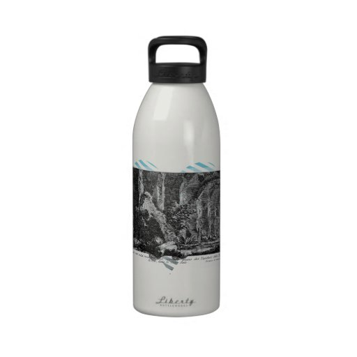 Juan Piranesi- los siete pasillos Botella De Agua Reutilizable