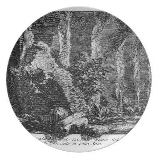 Juan Piranesi- los siete pasillos Platos