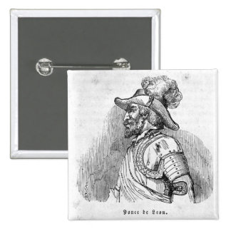Juan Ponce de Leon Button