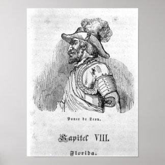 Juan Ponce de León Poster