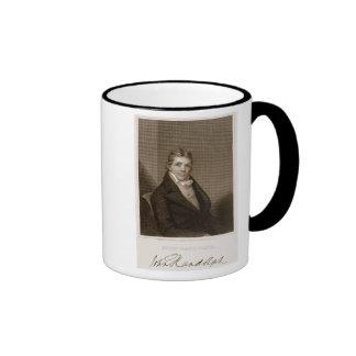 Juan Randolph (1773-1833) grabado por Thomas B. No Tazas De Café