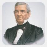 Juan Ross (1790-1866) (litho del color) Pegatina Cuadrada