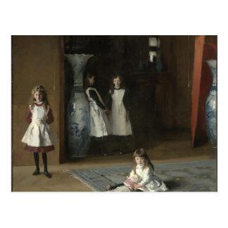 Juan Sargent- las hijas de Edward Darley Boit Postal