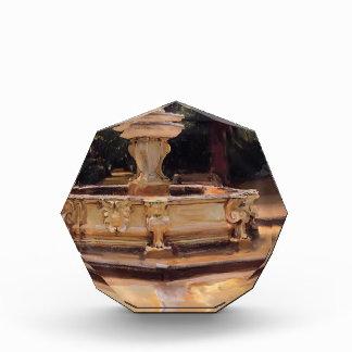 Juan Sargent- una fuente de mármol en Aranjuez, Es