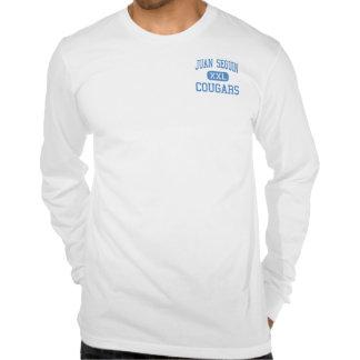 Juan Seguin - Cougars - High - Arlington Texas T-shirts