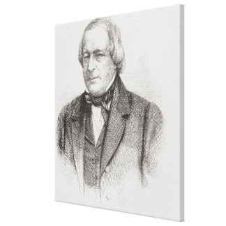Juan Slidell, 1861 Impresiones En Lienzo Estiradas