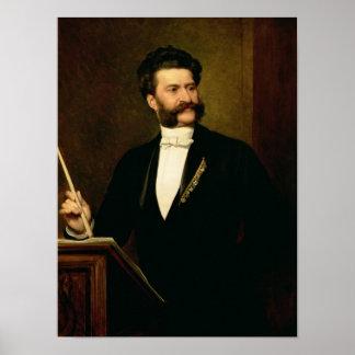 Juan Strauss cuanto el más joven 1888 Impresiones