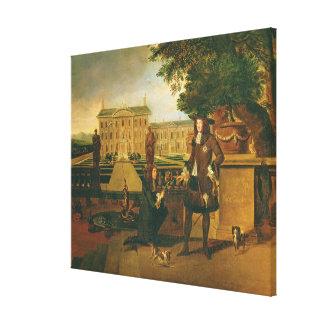 Juan subió (c.1621-77) a Gardener del rey, present Impresión De Lienzo