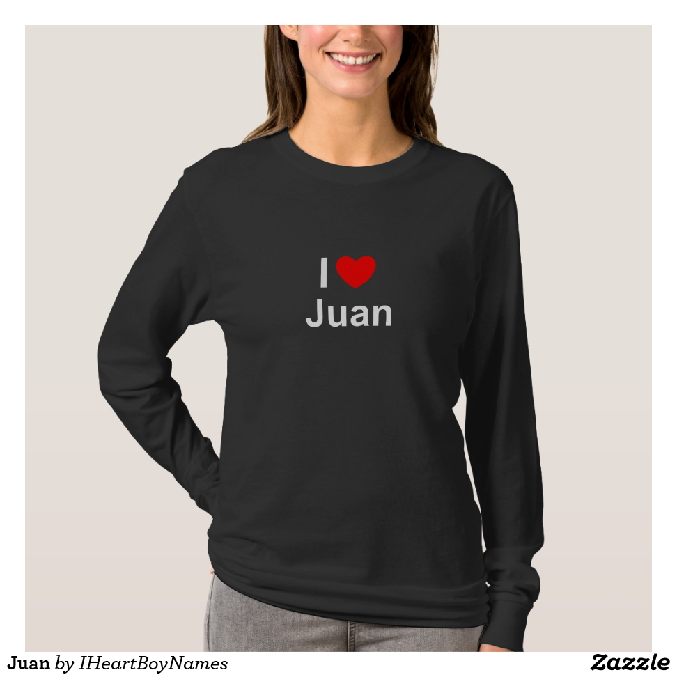 Juan T-Shirt - Best Selling Long-Sleeve Street Fashion Shirt Designs