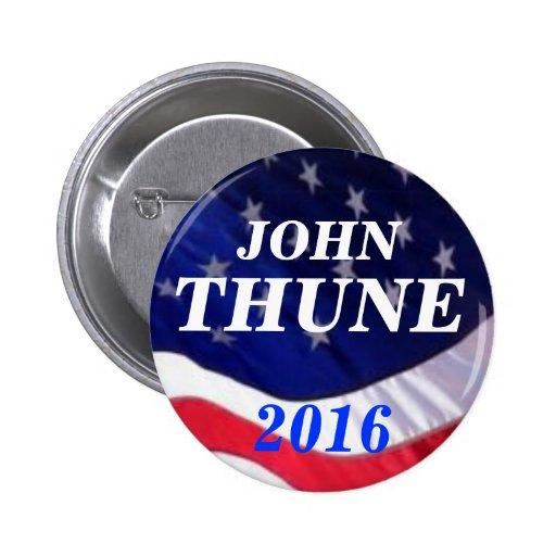Juan Thune 2016 Pin Redondo De 2 Pulgadas