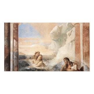 Juan Tiepolo: Aquiles consoló por su madre Tarjetas De Visita