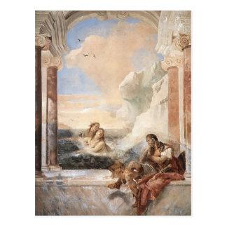 Juan Tiepolo: Aquiles consoló por su madre Tarjetas Postales