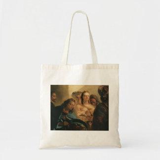Juan Tiepolo- Cristo y la adúltera Bolsas Lienzo