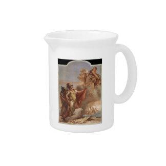 Juan Tiepolo: El adiós de Venus a Aeneas Jarras Para Bebida