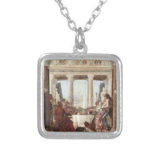 Juan Tiepolo: El banquete de Cleopatra Joyerías