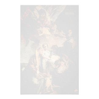 Juan Tiepolo- la educación de la Virgen Papeleria Personalizada
