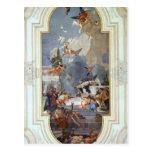 Juan Tiepolo: La institución del rosario Postales