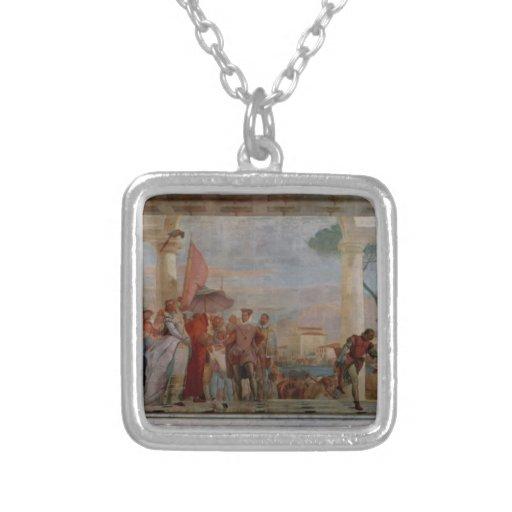 Juan Tiepolo- la recepción de Henry III Colgante