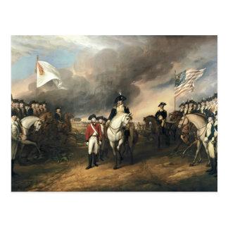 Juan Trumbull: La entrega de señor Cornwallis Tarjeta Postal