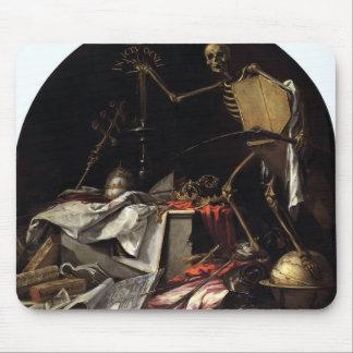 Juan Valdes Leal- Allegory of Death: In Ictu Oculi Mousepads
