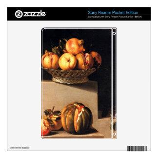 Juan van der Hamen - Still Life with Fruit and Gla Sony Reader Skin