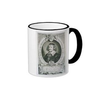 Juan van Knuyt (1587-1654) de 'DES H de los retrat Taza De Café