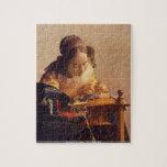 Juan Vermeer - el rompecabezas de Lacemaker