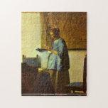 Juan Vermeer - el rompecabezas del lector de la le