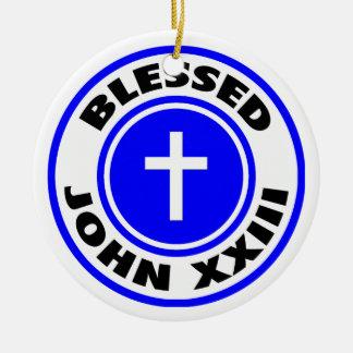 Juan XXIII bendecido Ornamentos De Navidad