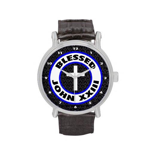 Juan XXIII bendecido Relojes De Pulsera