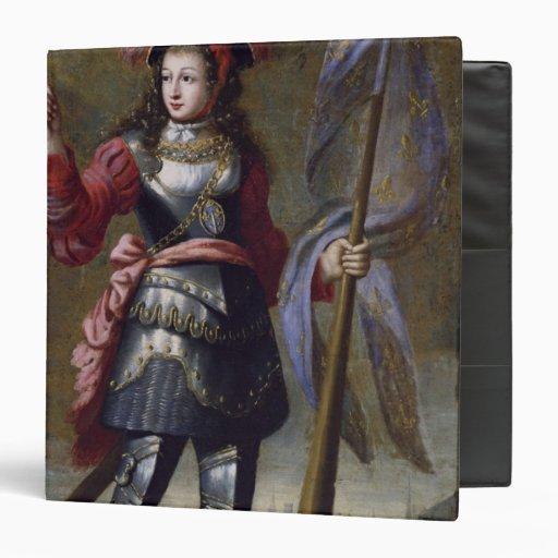 """Juana de Arco antes de Orleans Carpeta 1 1/2"""""""