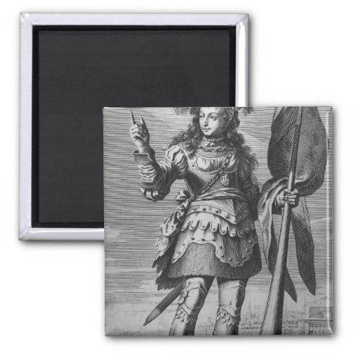 Juana de Arco antes de Orleans Imán Para Frigorifico