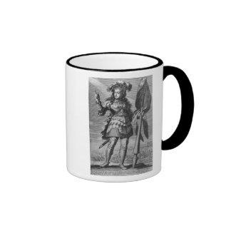 Juana de Arco antes de Orleans Taza De Café