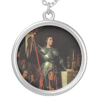 Juana de Arco Colgante Redondo