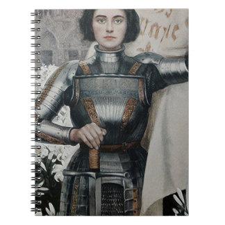 Juana de Arco de Albert Lynch Cuadernos