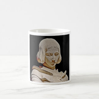 Juana de Arco en el Basilique du Bois Chenu Taza De Café